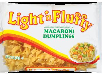 Light N' Fluffy - Macaroni Dumplings